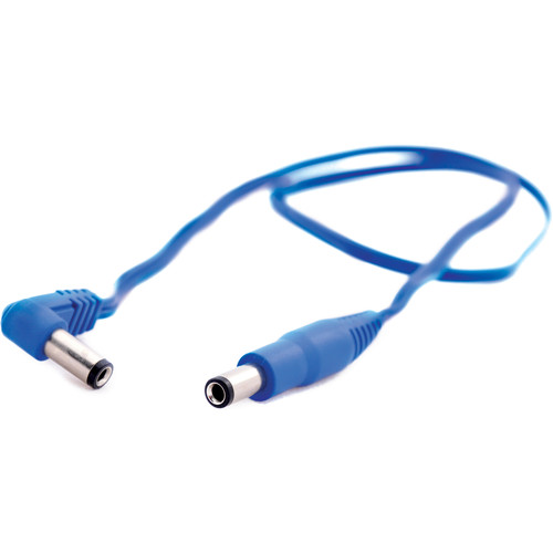 "T-REX DC Male to DC Male Power Cable for Pedal (Blue, 19.7"")"