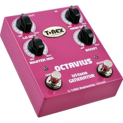 T-REX Octavius Tri-Tone Generator Pedal