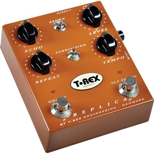 T-REX REPLICA Guitar Delay Pedal with Tap Tempo