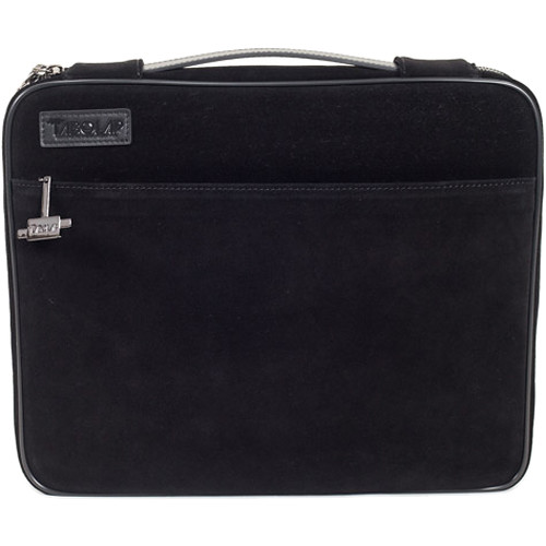 "TaboLap Workstation Laptop Case for up to 13"" Device (Suede Leather, Black)"
