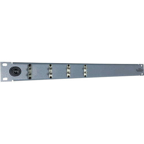 Tactical Fiber Systems 4-Port Duplex ST Patch Panel Duo Chassis Connectors & Duo ST to LC Patch Cables