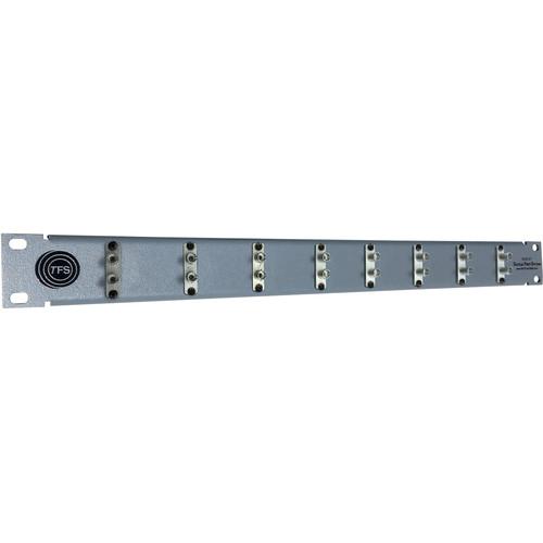Tactical Fiber Systems 8-Port Duplex ST Patch Panel