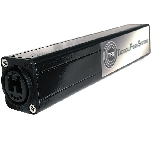 Tactical Fiber Systems Neutrik opticalCON DUO Inline Cable Coupler
