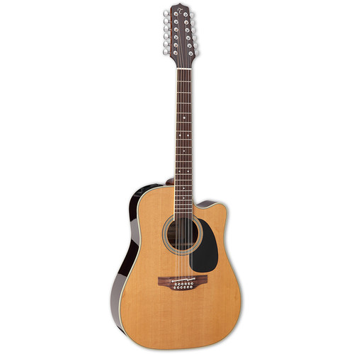 Takamine EF400SC TT Thermal Top Series 12-String Acoustic/Electric Guitar (Natural Gloss)