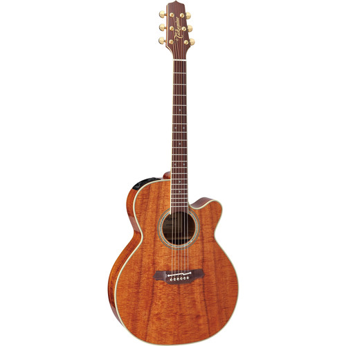 Takamine EF508KC NEX Legacy Series Acoustic/Electric Guitar with Case