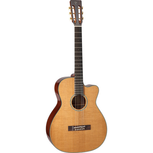 Takamine EF740FS TT Thermal Series Acoustic/Electric Guitar with Case