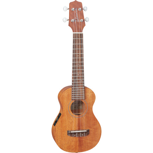 Takamine EGUS1 G-Series Acoustic/Electric Soprano Ukulele with Gig Bag (Natural Satin)