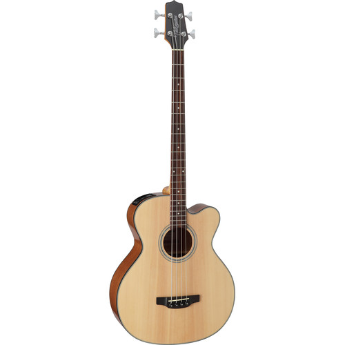 Takamine GB30CE-NAT G Series Acoustic/Electric Bass Guitar (Natural)