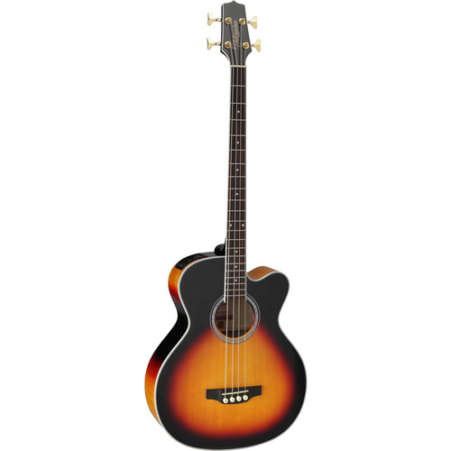 Takamine GB72CE-BSB G Series Acoustic/Electric Bass Guitar (Brown Sunburst)