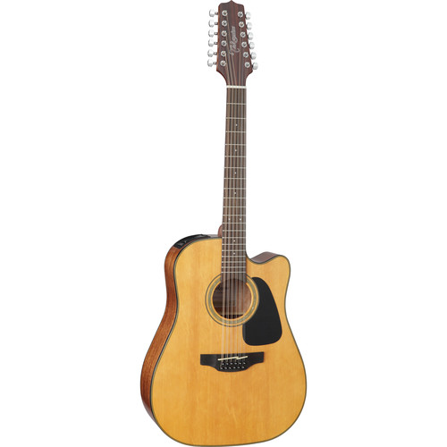 Takamine GD30CE-12 G Series 12-String Dreadnought Acoustic/Electric Guitar (Natural)