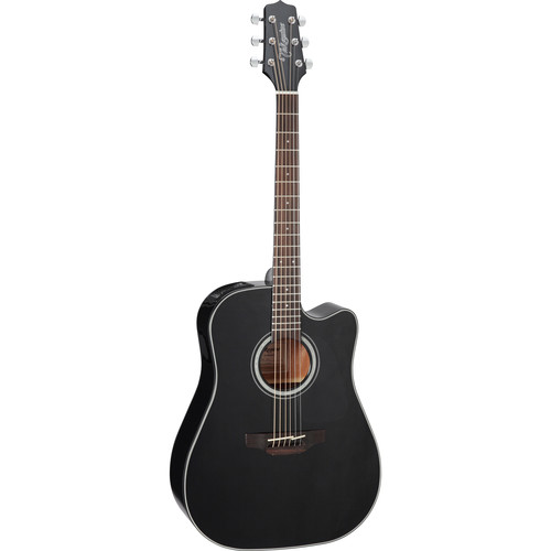Takamine GD30CE G Series Dreadnought Acoustic/Electric Guitar (Black)