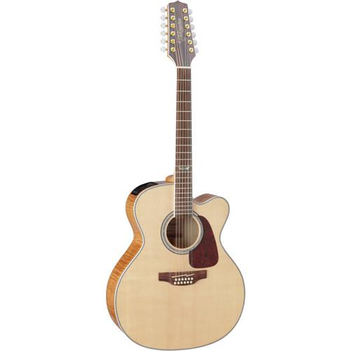 Takamine GJ72CE-12 NAT Jumbo 12-String Acoustic/Electric Guitar (Natural)
