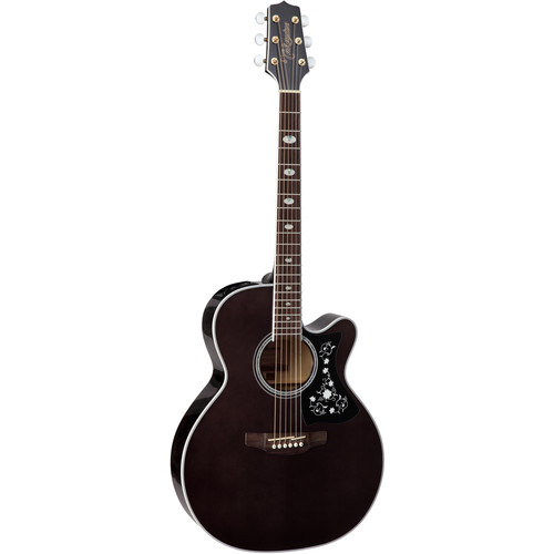 Takamine GN75CE NEX-Style Acoustic/Electric Guitar (Transparent Black)