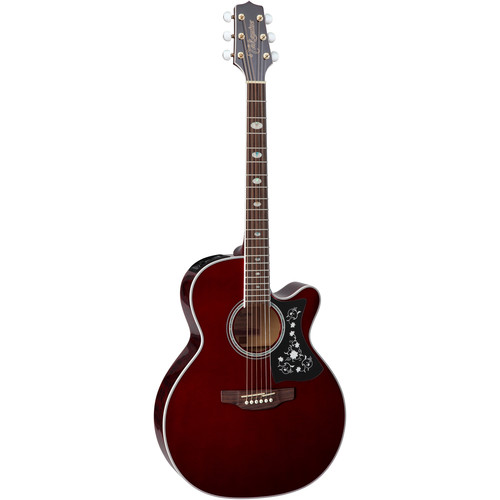 Takamine GN75CE NEX-Style Acoustic/Electric Guitar (Wine Red)