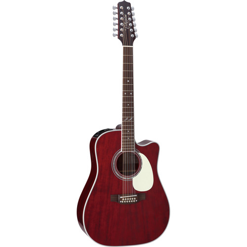 Takamine JJ325SRC-12 John Jorgenson Signature Series 12-String Acoustic/Electric Guitar with Case
