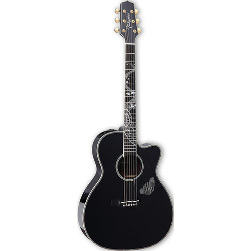 Takamine LTD 2017 Magome Limited Edition Series Orchestra Acoustic/Electric Guitar (Gloss Midnight Blue)