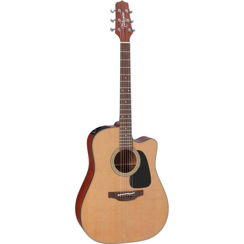 Takamine P1DC Pro Series 1 Dreadnought Acoustic/Electric Guitar with Case