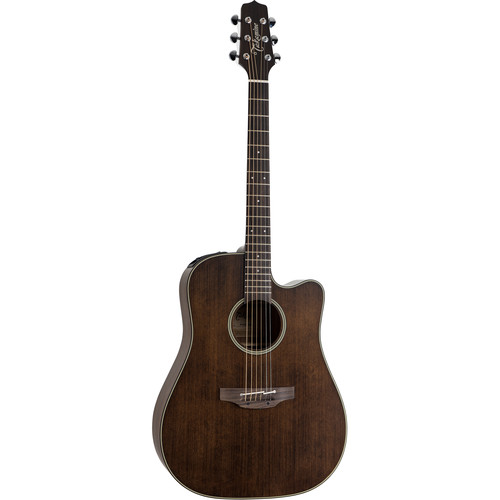 Takamine P1DC Pro Series Dreadnought Acoustic/Electric Guitar (Natural Gloss)