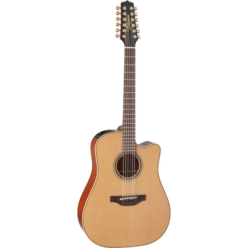 Takamine P3DC-12 Pro Series 3 Acoustic/Electric 12-String Guitar with Case