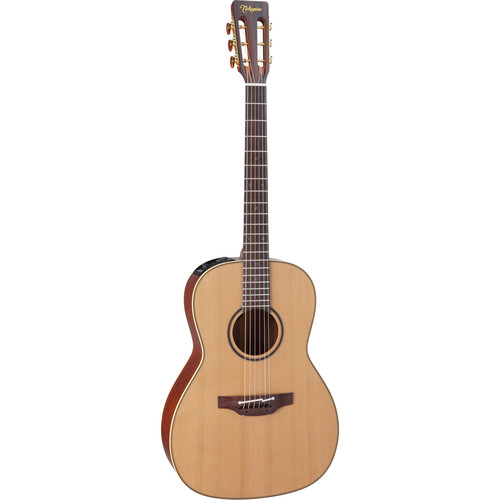 Takamine P3NY Pro Series 3 Parlor-Style New Yorker Acoustic/Electric Guitar with Case