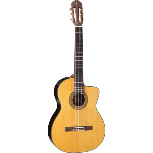 Takamine TC132SC Nylon-String Classical Guitar with Case