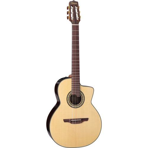 Takamine TC135SC Nylon-String Acoustic/Electric Guitar with Case