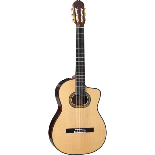 Takamine TH90 Hirade Concert Classical Acoustic/Electric Guitar with Case