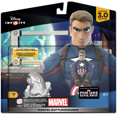 Disney Disney Infinity 3.0 Marvel Battlegrounds Playset