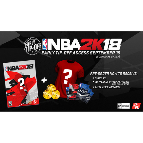 Take-Two NBA 2K18 Early Tip-Off Edition (Xbox One)