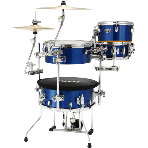 TAMA Cocktail-JAM 4-Piece Portable Drum Kit (Indigo Sparkle)