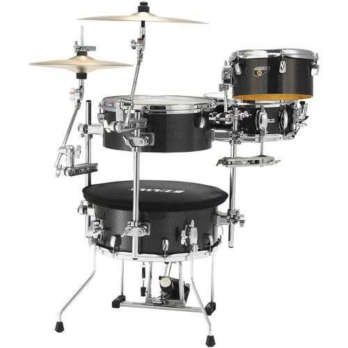 TAMA Cocktail-JAM 4-Piece Portable Drum Kit (Midnight Gold Sparkle)