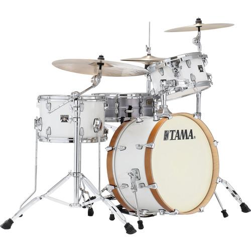 "TAMA Tama Starclassic Maple Vintage 3-Piece Shell Pack with 20"" Bass Drum /White Smoke"