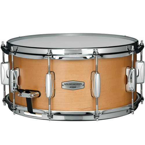 "TAMA Soundworks DMP1465 Maple Snare Drum (6.5 x 14"", Matte Vintage Maple)"