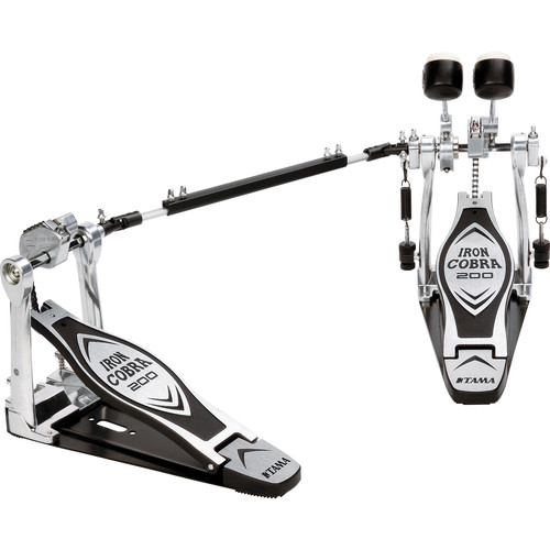 TAMA 200 Series HP200PTW Iron Cobra Twin Kick Drum Pedal (Right-Footed)