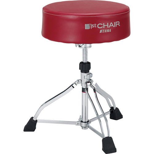 TAMA HT830R 1st Chair Round Rider XL Trio Drum Throne (Red Seat)