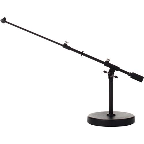 TAMA Iron Works Studio MS756RELBK Round-Base Extra Low-Profile Telescoping Boom Stand