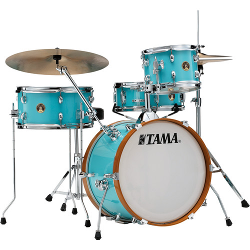 TAMA Tama Club-Jam 4-Piece Shell Pack (Aqua Blue)
