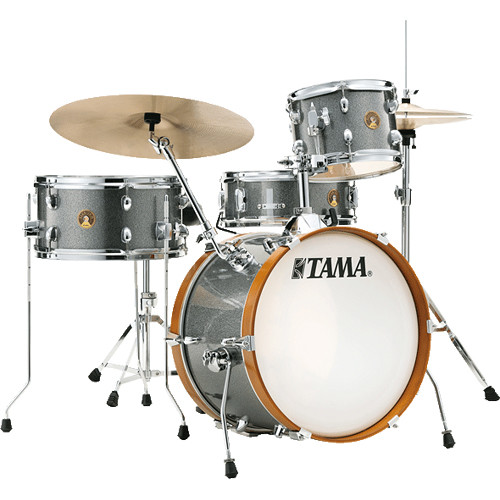 """TAMA Tama Club-Jam 4-Piece Shell Pack With 18""""Bass Drum /Galaxy Silver"""