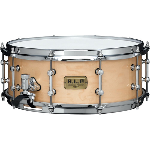 """TAMA S.L.P. Series LMP1455SMP Classic Maple Snare Drum (5.5 x 14"""", Antique Maple)"""