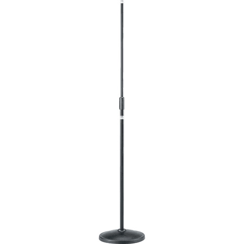 TAMA MS200DBK Straight Microphone Stand with Round Base (Black)