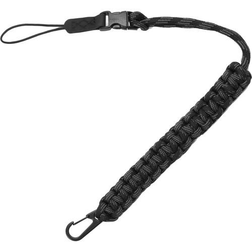 Tamrac Quick Release Strap - Paracord Wrist Strap (Black/Dark Gray)
