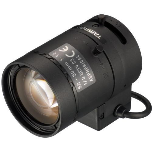 "Tamron 13VG550ASII-SQ 1/3"" CS-Mount 5-50mm f/1.4 Aspherical Varifocal Lens"