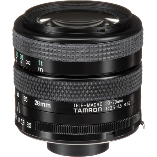 Tamron 28-70mm f/3.5-4.5 Adaptall Lens with Olympus OM Adaptall Mount Kit