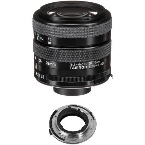 Tamron 28-70mm f/3.5-4.5 Adaptall Lens with Nikon AI Adapter Kit