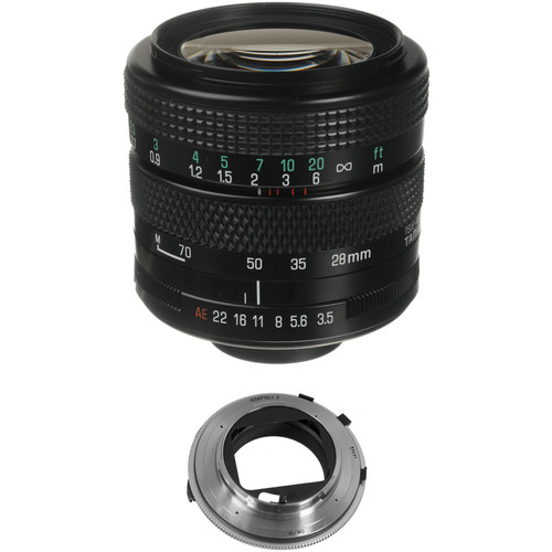 Tamron 28-70mm f/3.5-4.5 Adaptall Lens with Minolta MD Adapter Kit