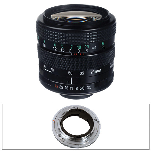 Tamron 28-70mm f/3.5-4.5 Adaptall Lens with Contax MM Adapter Kit