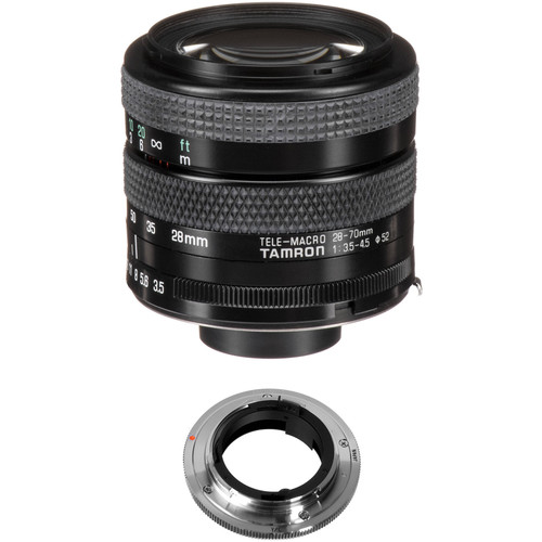 Tamron 28-70mm f/3.5-4.5 Adaptall Lens with Contax/Yashica Adapter Kit