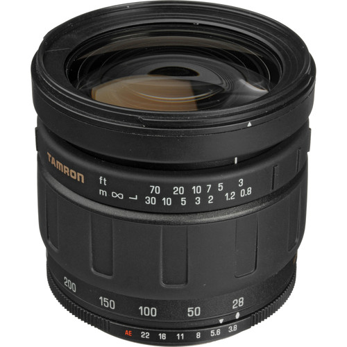 Tamron 28-200mm f/3.8-5.6 LD Aspherical IF Super MF Adaptall Lens