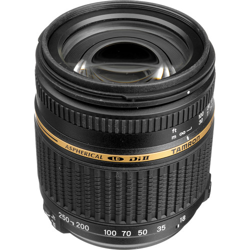 Tamron 18-250mm f/3.5-6.3 Di-II LD Asph. IF Macro Autofocus Lens for Nikon Digital SLR