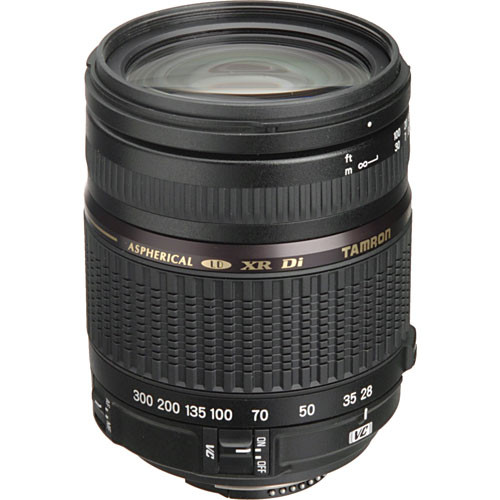 Tamron 28-300mm f/3.5-6.3 XR Di VC LD Aspherical IF Macro Autofocus Lens